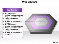 PowerPoint Template Diagram Web Diagram Ppt Design