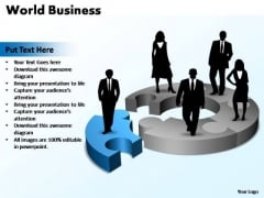 PowerPoint Template Download World Business Ppt Slides