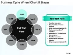 PowerPoint Template Editable Business Cycle Ppt Slide