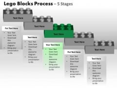 PowerPoint Template Editable Lego Blocks Ppt Template