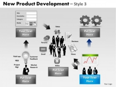PowerPoint Template Editable Product Development Ppt Slides