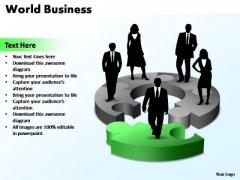 PowerPoint Template Editable World Business Ppt Slides