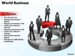 PowerPoint Template Editable World Ppt Slides