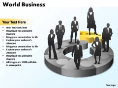 PowerPoint Template Education World Ppt Slides
