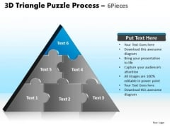 PowerPoint Template Image Triangle Puzzle Ppt Template