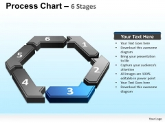 PowerPoint Template Leadership Cyclical Process Ppt Template