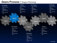 PowerPoint Template Leadership Gears Process Ppt Layout