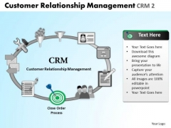 PowerPoint Template Leadership Relationship Management Ppt Process