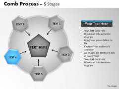PowerPoint Template Leadership Wheel And Spoke Process Ppt Design Slides