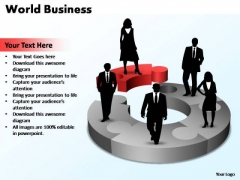 PowerPoint Template Leadership World Business Ppt Slides
