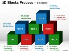 PowerPoint Template Marketing Building Blocks Ppt Designs