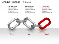 PowerPoint Template Marketing Chains Process Ppt Themes