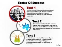 PowerPoint Template Marketing Factors Of Success Ppt Backgrounds
