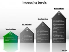 PowerPoint Template Marketing Increasing Levels Ppt Backgrounds