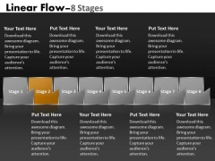PowerPoint Template Multicolored Sequential Flow Ishikawa Diagram Business Design