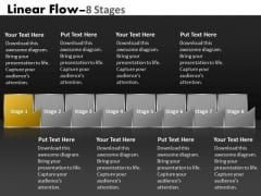 PowerPoint Template Multicolored Sequential Flow Ishikawa Diagram Design