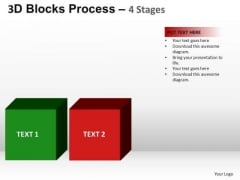 PowerPoint Template Process Building Blocks Ppt Designs