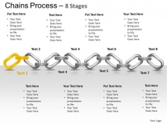 PowerPoint Template Process Chains Ppt Template