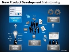 PowerPoint Template Process Development Brainstorming Ppt Design