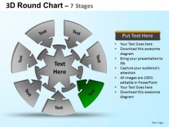 PowerPoint Template Process Round Process Flow Chart Ppt Designs