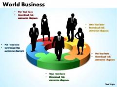 PowerPoint Template Process World Business Ppt Slides