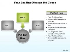 PowerPoint Template Reasons For Cause Ppt Design