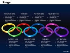 PowerPoint Template Rings Company Ppt Presentation Designs