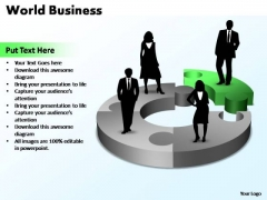 PowerPoint Template Sales World Business Ppt Slides