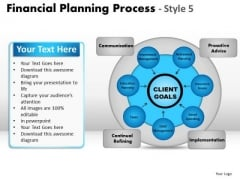 PowerPoint Template Strategy Financial Planning Ppt Process