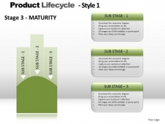 PowerPoint Template Strategy Product Lifecycle Ppt Themes