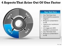 PowerPoint Template Teamwork Aspects Arise Ppt Theme
