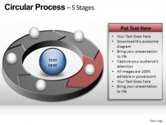 PowerPoint Template Teamwork Circular Ppt Template