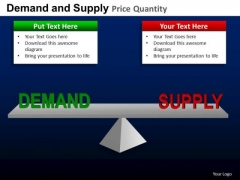 PowerPoint Templates Balancing Supply And Demand PowerPoint Slides