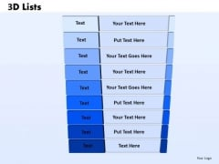 List Powerpoint Templates Slides And Graphics