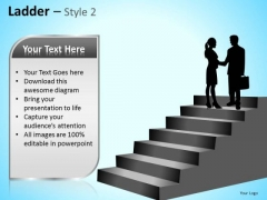 PowerPoint Templates Business Competition Ladder Ppt Themes