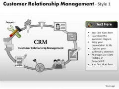 PowerPoint Templates Business Customer Relationship Management Ppt Slides