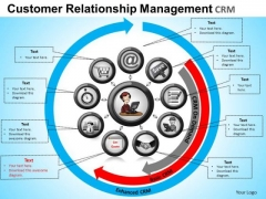 PowerPoint Templates Business Customer Relationship Ppt Themes