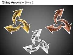 PowerPoint Templates Business Designs Shiny Arrows 2 Ppt Presentation