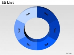PowerPoint Templates Business Donut Pie Chart Ppt Slides