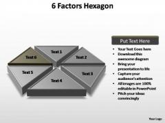 PowerPoint Templates Business Factors Hexagon Ppt Themes