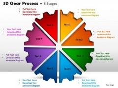 PowerPoint Templates Business Gear Process Ppt Process
