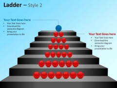 PowerPoint Templates Business Growth Ladder Ppt Layouts