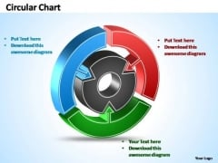 PowerPoint Templates Business Interconnected Circular Chart Ppt Layouts