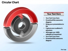 PowerPoint Templates Business Interconnected Circular Chart Ppt Themes