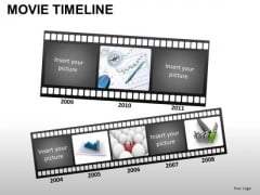PowerPoint Templates Business Movie Timeline Ppt Slides