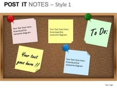PowerPoint Templates Business Post It Notes Ppt Themes