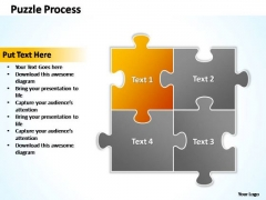 PowerPoint Templates Business Puzzle Process 2 X 2 Ppt Theme