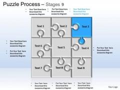 PowerPoint Templates Business Puzzle Process Ppt Slide