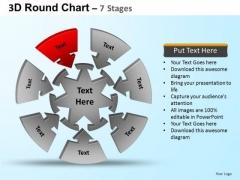 PowerPoint Templates Business Round Process Flow Chart Ppt Design