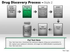 PowerPoint Templates Business Strategy Drug Discovery Process Ppt Presentation
